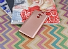 Xiaomi Redmi 4 Mat Rose Gold Silikon Kılıf - Resim 1
