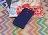 Xiaomi Redmi 4 Mat Lacivert Silikon Kılıf - Resim 2