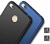 Xiaomi Redmi 4X Tam Kenar Koruma Lacivert Rubber Kılıf - Resim 6