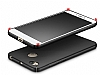 Xiaomi Redmi 4X Tam Kenar Koruma Rose Gold Rubber Kılıf - Resim 2