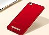 Xiaomi Redmi 4A Tam Kenar Koruma Kırmızı Rubber Kılıf - Resim 1