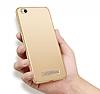Xiaomi Redmi 4A Tam Kenar Koruma Rose Gold Rubber Kılıf - Resim 3