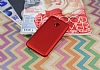 Xiaomi Redmi 4X Mat Kırmızı Silikon Kılıf - Resim 1