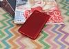 Xiaomi Redmi Note 5A Mat Kırmızı Silikon Kılıf - Resim 2