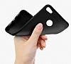 Xiaomi Redmi Note 5A Prime Mat Kırmızı Silikon Kılıf - Resim 2