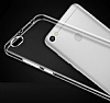 Xiaomi Redmi Note 5A Ultra İnce Şeffaf Siyah Silikon Kılıf - Resim 2