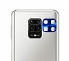 Xiaomi Redmi Note 9 Metal Lacivert Kamera Lensi Koruyucu