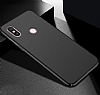 Xiaomi Redmi S2 Tam Kenar Koruma Siyah Rubber Kılıf - Resim 1