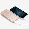 Xiaomi ZMI Ultra Slim 10000 mAh Powerbank Gold Yedek Batarya - Resim 2