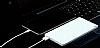 Xiaomi ZMI Ultra Slim 10000 mAh Powerbank Silver Yedek Batarya - Resim 7