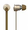 YISON EX700 Mikrofonlu Kulakiçi Kahverengi Kulaklık