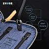 Zhuse Mu 4000 mAh Powerbank Yedek Batarya ve Jean Cüzdan - Resim 1