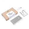 ZTE 10000 mAh Powerbank Silver Yedek Batarya - Resim 5