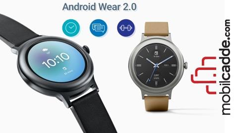 Android Wear 2.0'ın Öne Çıkan Özellikleri