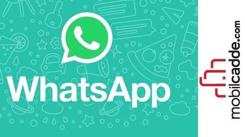 WhatsApp'a Son Güncelleme İle Birlikte Gelen Özellikler
