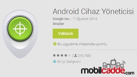 Android Telefonları Uzaktan Kilitleyin