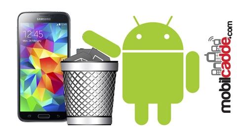 Android'de Silinmeyen Uygulamaları Silin