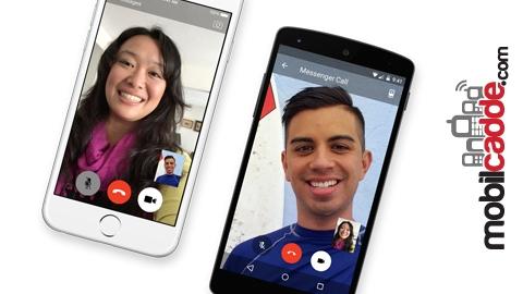 Facebook Messenger'a Görüntülü Görüşme Özelliği Geldi