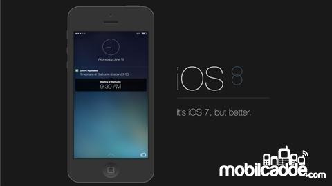 iOS 8 ile Gelen Yenilikler
