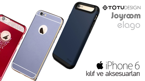 TotuDesign, Joyroom, Elago iPhone 6 Kılıf İnceleme Video