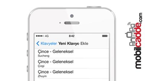 iPhone'da Klavye Nasıl Yüklenir?
