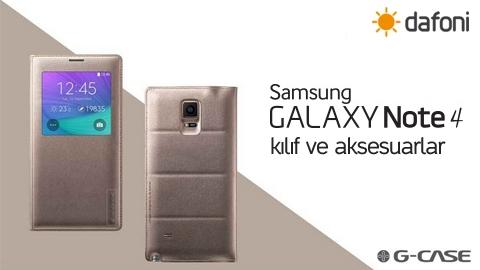 G-Case, Dafoni Samsung Galaxy Note 4 Kılıf İnceleme Video