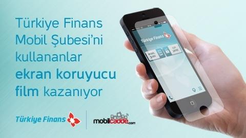 Türkiye Finans Ekran Koruyucu Film Kampanyası
