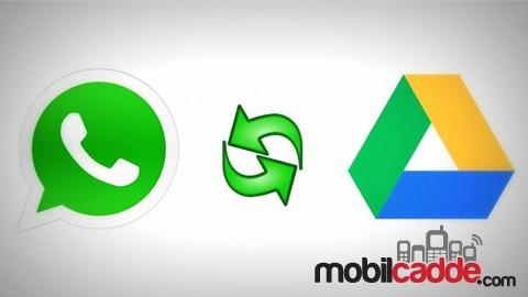 WhatsApp Konuşmalarınızı Otomatik Olarak Google Drive'a Yedekleyin