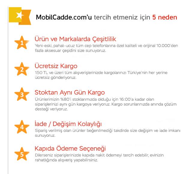 MobilCadde.com'u tercih etmeniz için 5 neden